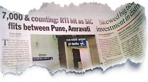 On July 1, Pune Newsline had highlighted how the Information Commissioner was unable to give enough time to both benches.