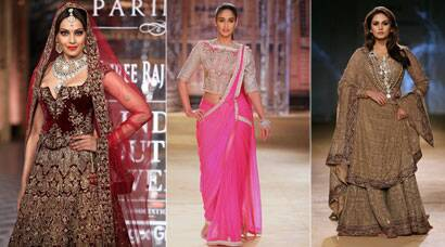 Bollywood beauties Huma, Bipasha, Ileana on ramp