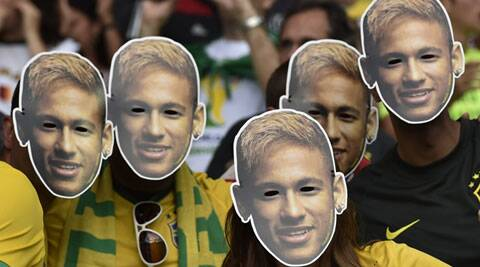 After the 2011 season, Neymar became the hero of Brazilian fans and the face of Brazil. (Source: AP)