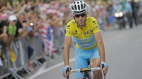 Nibali finished the 14th stage, a 177-km mountain trek from Grenoble, in second place. (Source: AP)