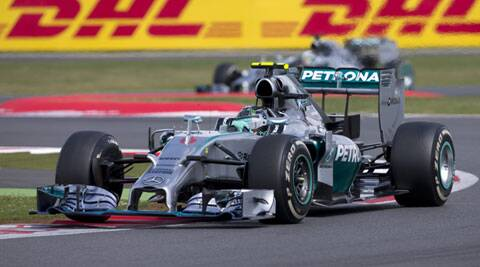 Rosberg has extended his contract with Mercedes. (Source: AP)