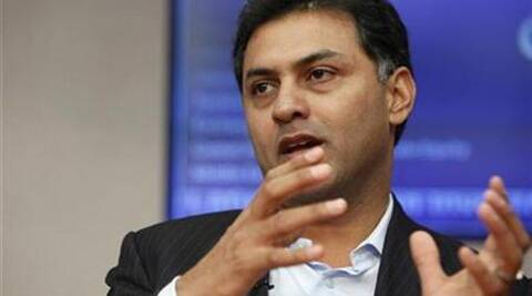 Nikesh Arora's surprise departure was announced as Google reported results that beat investors' expectations. (Reuters)