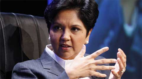 PepsiCo CEO Indra Nooyi. (Source: Reuters)