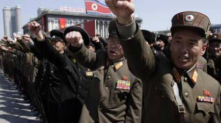 Weapons exports are a crucial source of hard currency for North Korea. (Source: AP)