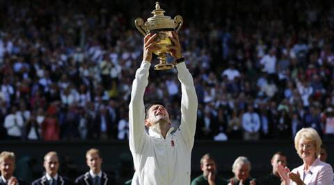 Djokovic replaced Rafael Nadal as the world's top player following his five-set triumph over Roger Federer in Sunday's final at the All England Club. (Source: AP)