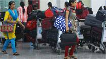 44 Kerala nurses return home from strife-torn Libya
