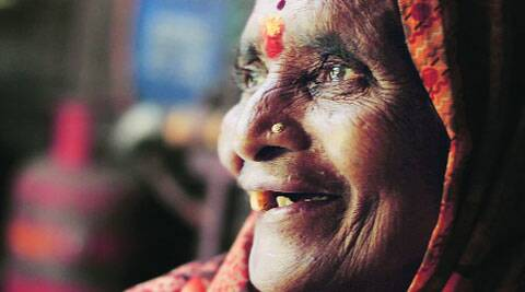 Babutai Damodar Labade works as a porter defying her age