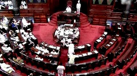 The Opposition disrupted Parliament proceedings over price rise and rail fare hike. (Source: PTI)
