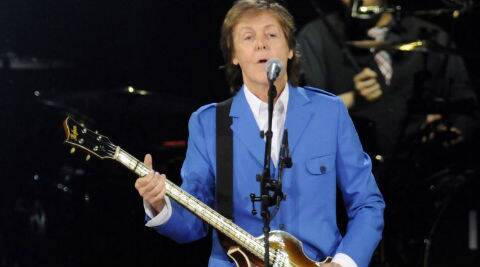 Paul McCartney helped a 64-year-old man propose to his girlfriend. (Source: AP)