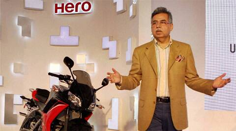 Pawan Munjal, MD & CEO, Hero Motocorp, took home Rs 37.88 crore as remuneration last year.