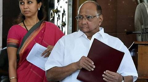 Pawar's statement is a blow to the Congress, which was hoping to rally opposition forces to block the Bill's passage in the RS. (Source: PTI photo)