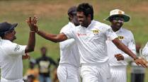 Perera's five-for puts Sri Lanka on top