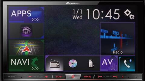 Pioneer AVIC-F60BT is the latest addition to the company's wide range of touch-screen car entertainment systems.