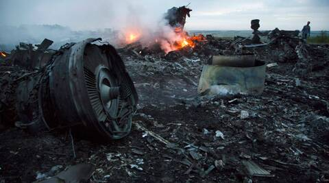 Pro-Russia rebels have claimed to have recovered the black box of Malaysia Airlines Flight MH17. (Source: AP photo)