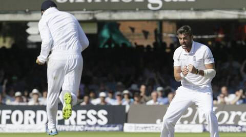 Plunkett scalped Pujara and Kohli in successive deliveries to give England an edge over India on day 3 of the second Test at Lord's. (Source: AP)