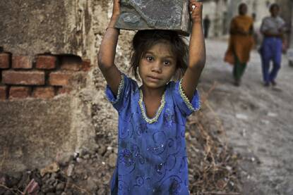 The tribal district of Dahod along with the state's most urbanised district of Ahmedabad have the second and third highest number of underweight children, respectively. (Photo: Reuters)