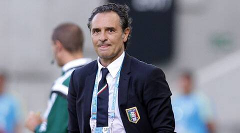 Prandelli stepped down as Italy coach after the country's group stage exit from the 2014 World Cup. (Source: AP)