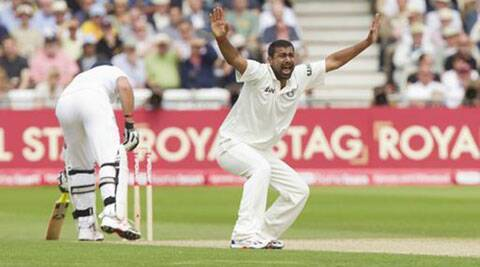 Praveen Kumar took 15 wickets in three Tests in England in 2011. (Source: AP File)