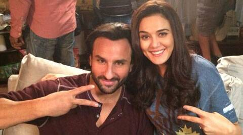 Preity Zinta will be seen in a cameo in 'Happy Ending'.
