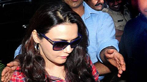 Apparently Preity Zinta's transformation into a foul-mouthed rustic bandit was very convincing.