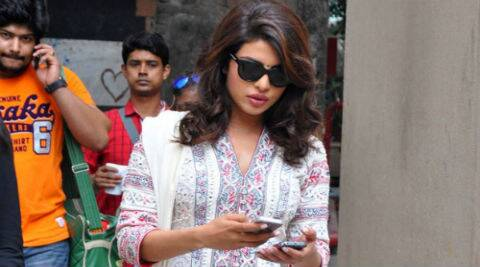 Priyanka Chopra was recently shooting for Zoya Akhtar's 'Dil Dhadakne Do' in the Mediterranean.