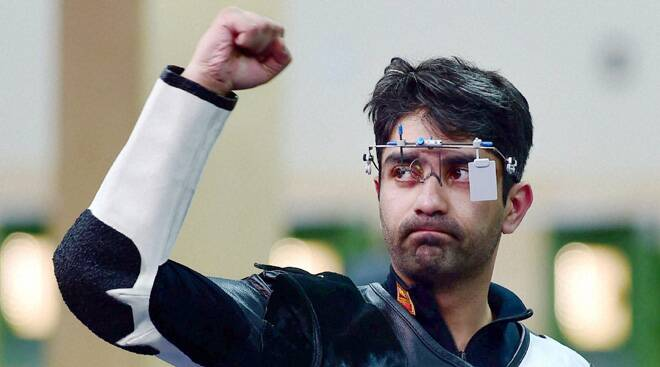 Bindra shoots gold, Matsa, Malaika win their first CWG medals
