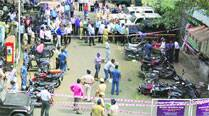 Blast in police station parking lot near 'sensitive' temple raises questions on alertness of cops