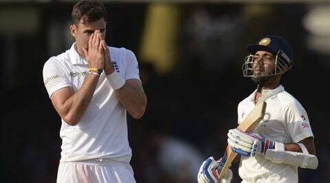 Ajinkya Rahane (103) bailed India out of trouble on the opening day of the second Test at Lord's on Thursday (Source: Reuters)