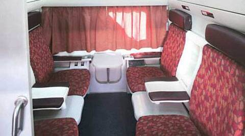 The Railways Ministry is planning to set up cabins equip­ped with computers, printers, internet and refreshments in a few coaches of select trains.