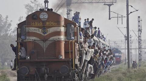 The derailment detector devices, a first for Indian Railways, will be fitted in three Rajdhanis and two Shatabdi trains . ( Source: Reuters )