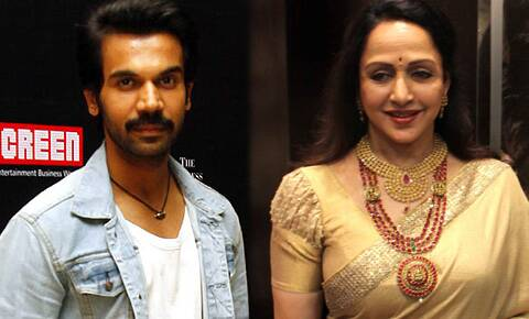 Rajkummar Rao will be seen romancing Hema Malini in Ramesh Sippy's film 'Shimla Mirchi'.