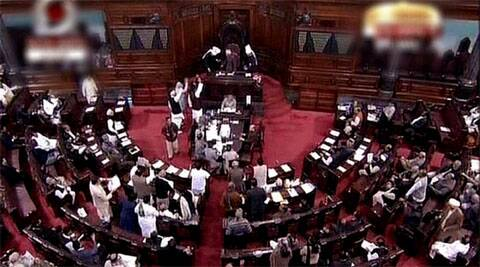 The Rajya Sabha on Tuesday witnessed ruckus over the Union Public Service Commission issue.