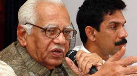 Former Petroleum Minister Ram Naik replaced B L Joshi, who demitted office after the NDA government decided to replace Governors appointed during the previous UPA tenure. (Source: PTI)