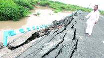 'No damage to Manjalpur bridge in approach road cave-in'