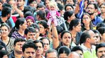 Parents protest against alleged police inaction in Bangalore on Saturday.	Source: AP