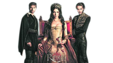Torrance Coombs, Adelaide Kane and Toby Regbo