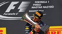 Ricciardo wins humdinger in Hungary, Hamilton third