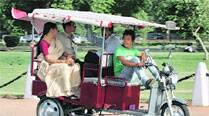 Congress to take up e-rickshaw issue with Jung