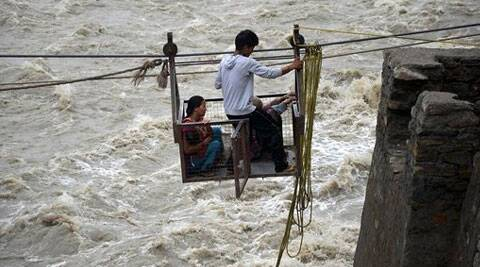 Two killed, many swept as rains lash Uttarakhand