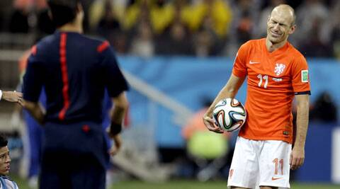 Disappointment Again: The Dutch winger is widely regarded as one of the best in the world.