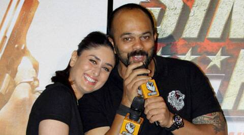 Rohit Shetty must make 'Singham' on a female police officer: Kareena Kapoor