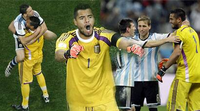FIFA World Cup: Sergio Romero, you're The Man!