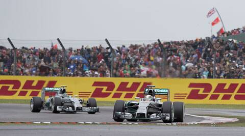 The session was marred by rain and the German beat fellow Mercedes teammate Lewis Hamilton to the pole position. (Source: AP)