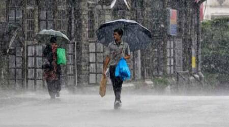Meteorological department officials predict showers to continue for the next 48 hours after which the rainfall condition may slacken.