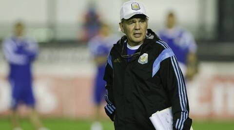 Sabella has done a much better job of leading his country to the brink of a third World Cup triumph from the bench than Maradona four years ago. (Source: AP)