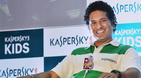 Sachin Tendulkar in Glasgow Celtic colours? (Source: PTI)