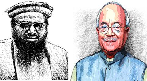 Vaidik and the others travelled to Pakistan at the invitation of Regional Peace Institute, Islamabad, for an Indo-Pak bilateral dialogue, a Track 2 intiative. Aiyar is on the institute's board of governors. Source: Express photo