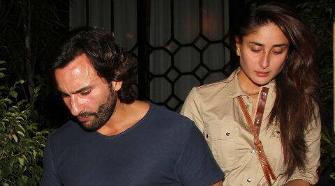Saif will make a good cop on screen, says wife Kareena.