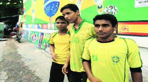 Heartbroken Brazil fans in Kolkata mourn Selecao's World Cup defeat. ( Source: Express photo by Subham Dutta )