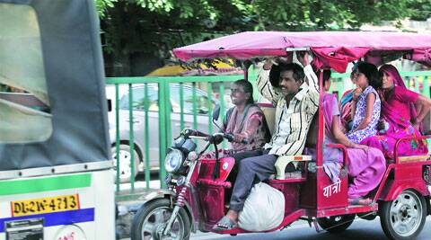 25 e-rickshaw-related accidents till June, Traffic police say.